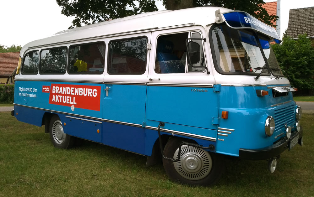 Der Robur-Bus in Bork
